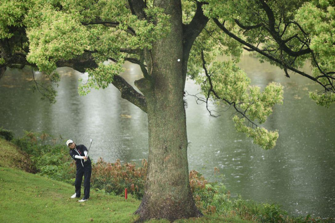 ほけんの窓口レディース 最終日 新垣比菜 <Photo:Matt Roberts/Getty Images>