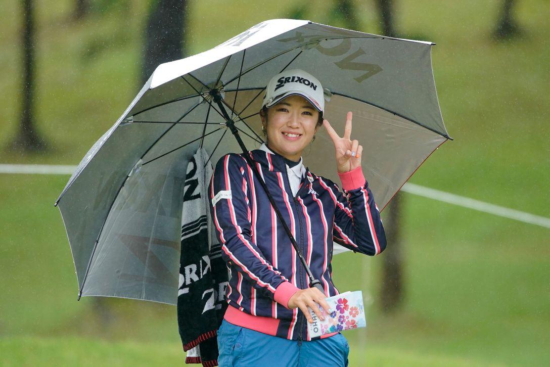 ツインフィールズレディーストーナメント 最終日 林菜乃子 <Photo:Ken Ishii/Getty Images>