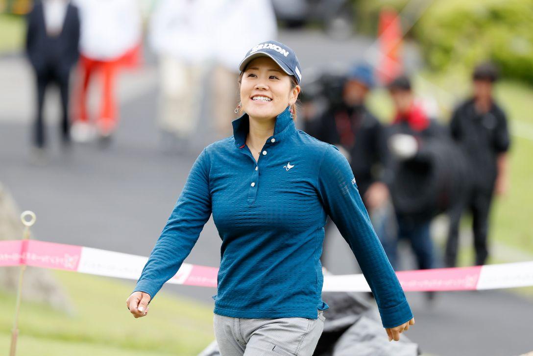 ツインフィールズレディーストーナメント 最終日 柳澤美冴 <Photo:Ken Ishii/Getty Images>