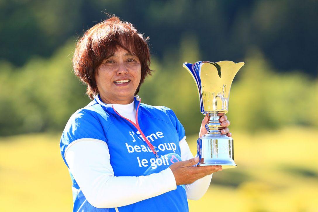 グリーンアカデミーカップ グランドシニアの部 最終日 加納由美子