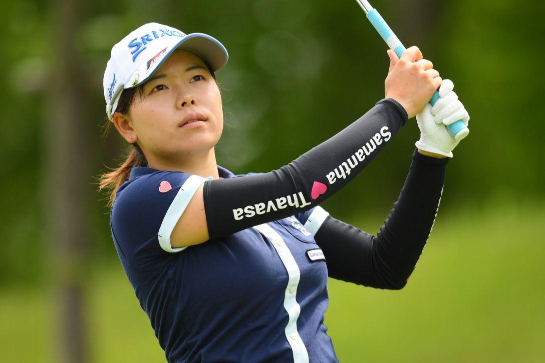 ヨネックスレディスゴルフトーナメント 第1日 勝みなみ <Photo:Atsushi Tomura/Getty Images>