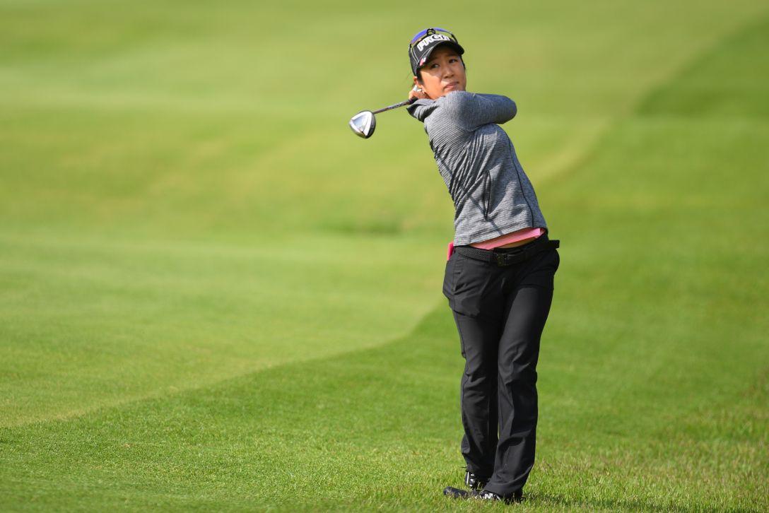 ヨネックスレディスゴルフトーナメント 第1日 藤本麻子 <Photo:Atsushi Tomura/Getty Images>