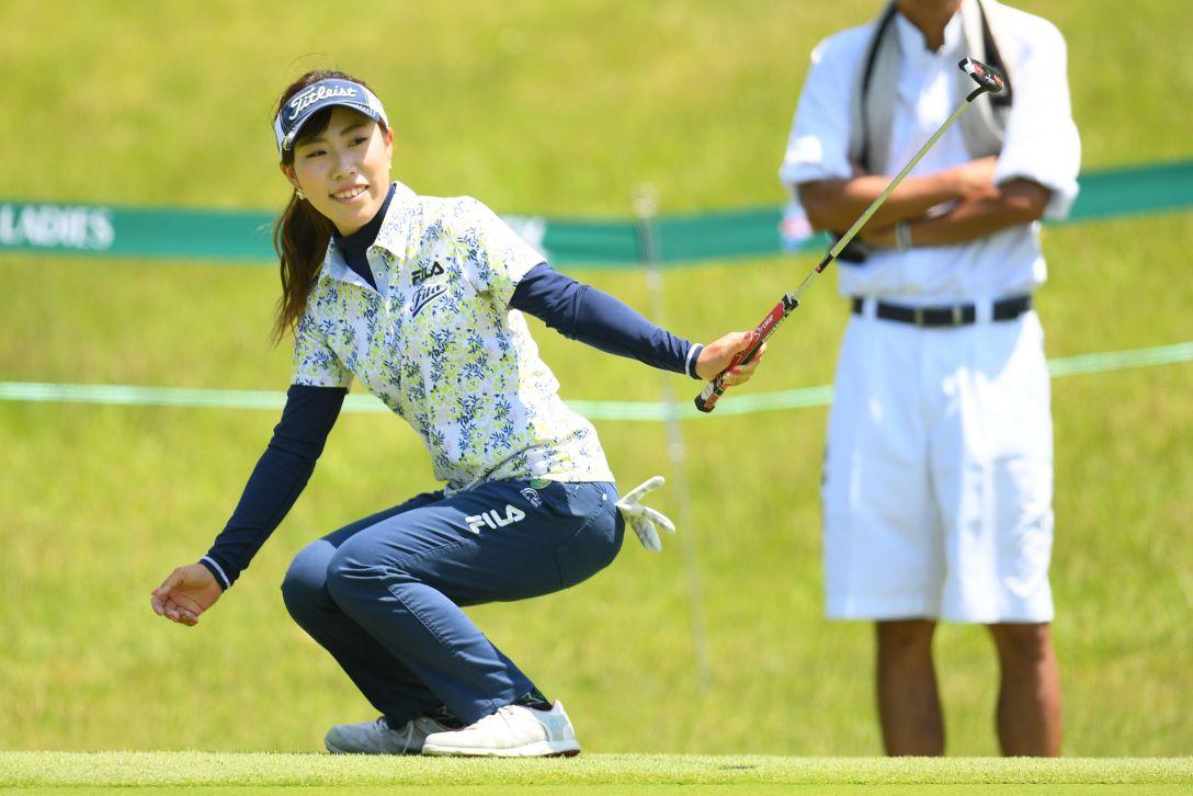 ヨネックスレディスゴルフトーナメント 第1日 木村彩子 <Photo:Atsushi Tomura/Getty Images>
