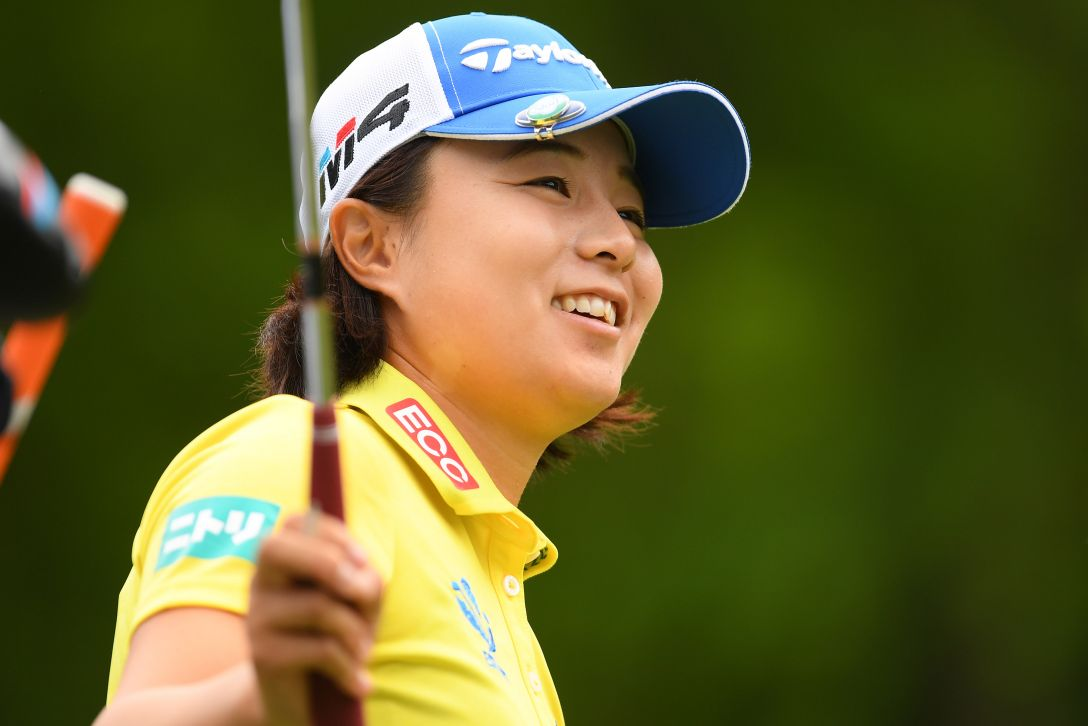 ヨネックスレディスゴルフトーナメント 第1日 永峰咲希 <Photo:Atsushi Tomura/Getty Images>