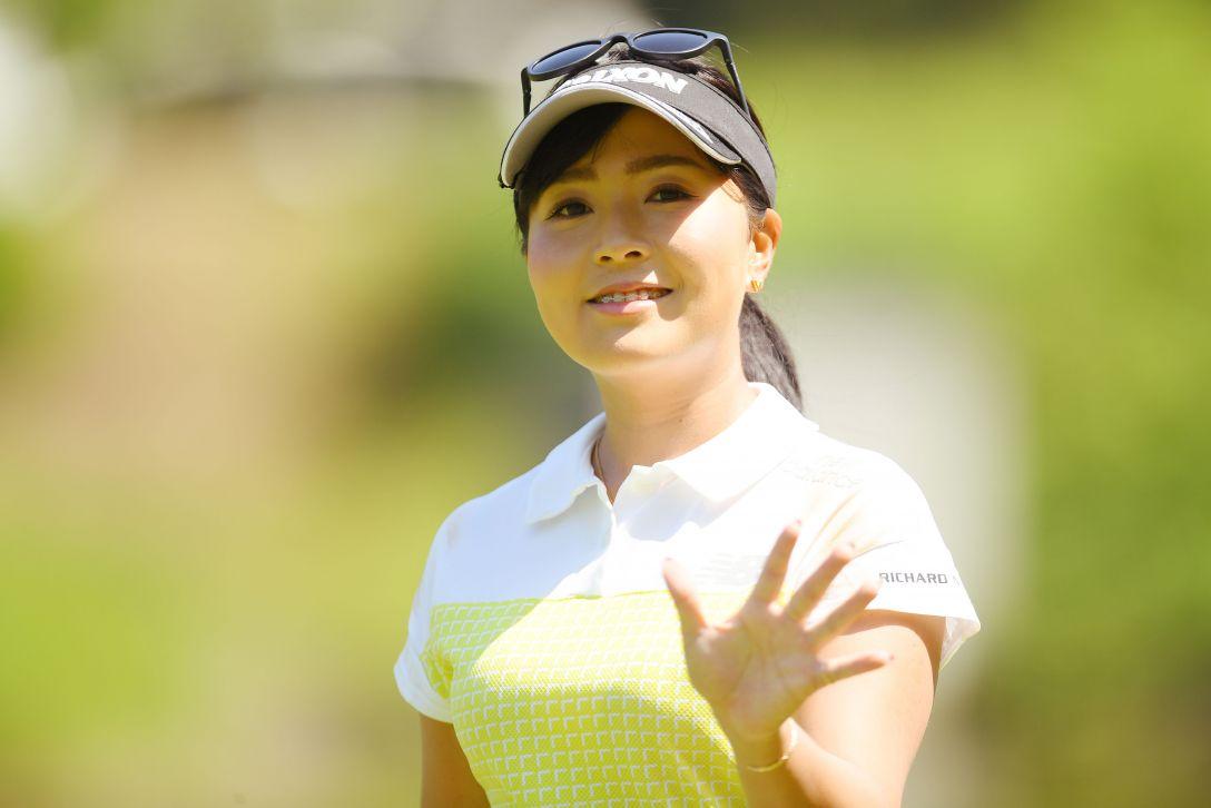 ヨネックスレディスゴルフトーナメント 第2日 青木瀬令奈 <Photo:Atsushi Tomura/Getty Images>