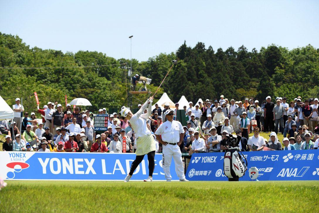 ヨネックスレディスゴルフトーナメント 最終日 石川明日香 <Photo:Atsushi Tomura/Getty Images>