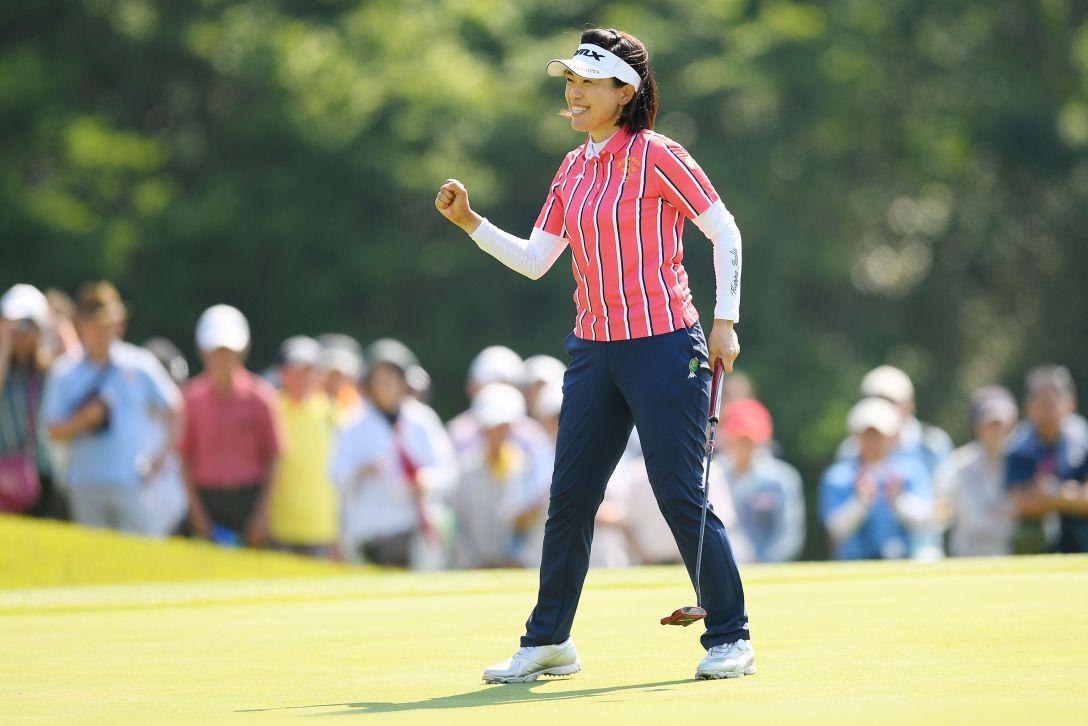 ヨネックスレディスゴルフトーナメント 最終日 大山志保 <Photo:Atsushi Tomura/Getty Images>