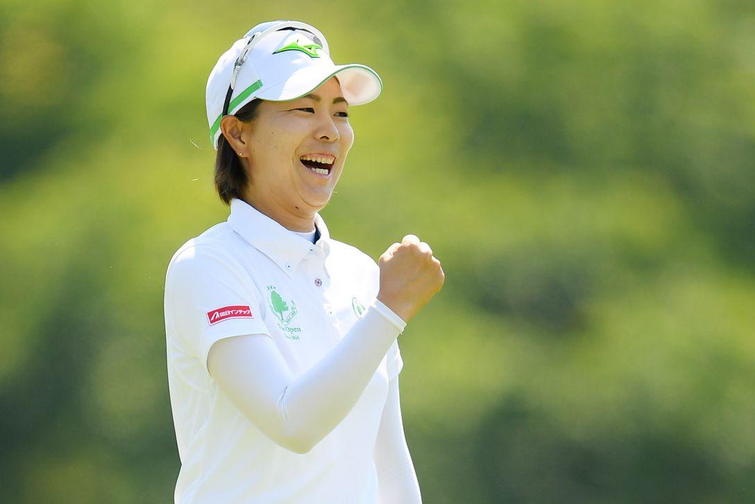 ヨネックスレディスゴルフトーナメント 最終日 服部真夕 <Photo:Atsushi Tomura/Getty Images>
