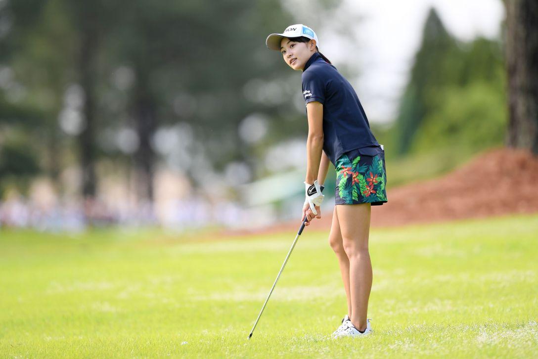 宮里藍 サントリーレディスオープンゴルフトーナメント 第1日 三浦 桃香 <Photo:Atsushi Tomura/Getty Images>