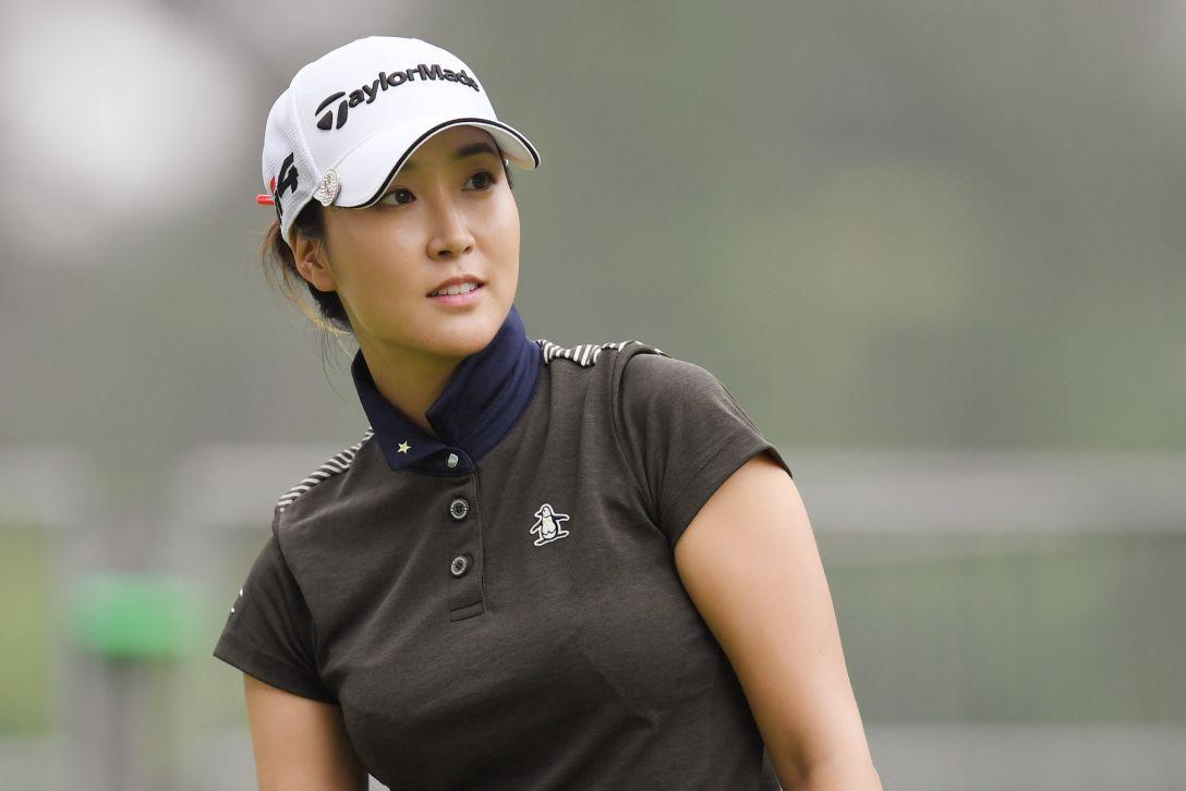 宮里藍 サントリーレディスオープンゴルフトーナメント 第2日 ジョンジェウン <Photo:Atsushi Tomura/Getty Images>