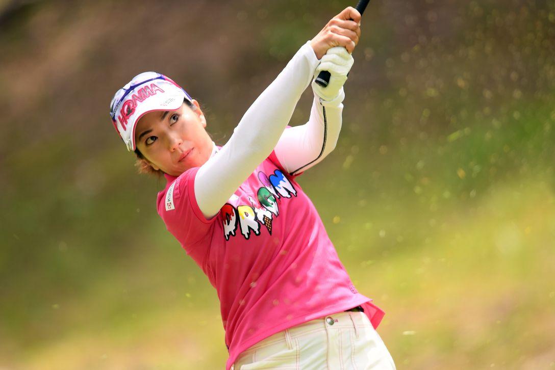 宮里藍 サントリーレディスオープンゴルフトーナメント 第3日 笠りつ子 <Photo:Atsushi Tomura/Getty Images>