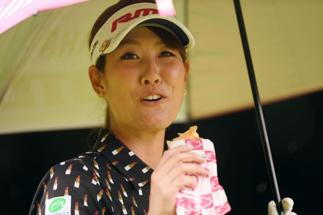 アース・モンダミンカップ 第1日 福田真未 <Photo:Atsushi Tomura/Getty Images>