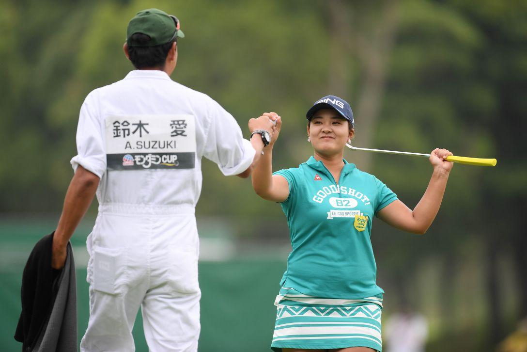 アース・モンダミンカップ 第3日 鈴木愛 <Photo:Atsushi Tomura/Getty Images>