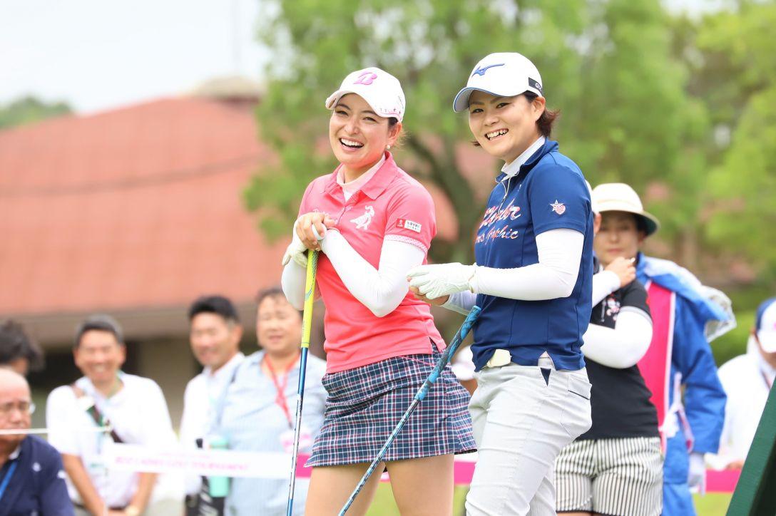 ECCレディス ゴルフトーナメント 第1日 横山 倫子