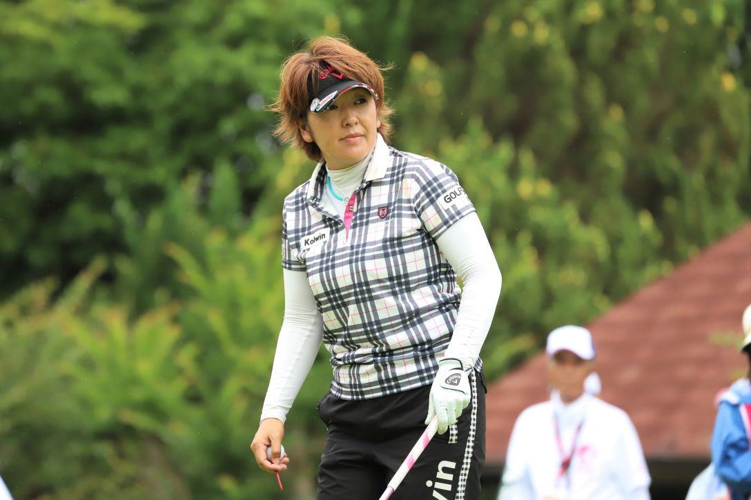 ECCレディス ゴルフトーナメント 第1日 福嶋 浩子