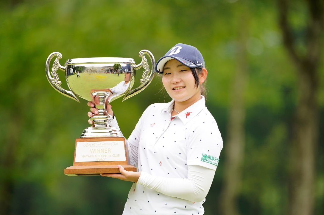 ANA PRINCESS CUP 最終日 工藤 優海 <Photo:Ken Ishii/Getty Images>