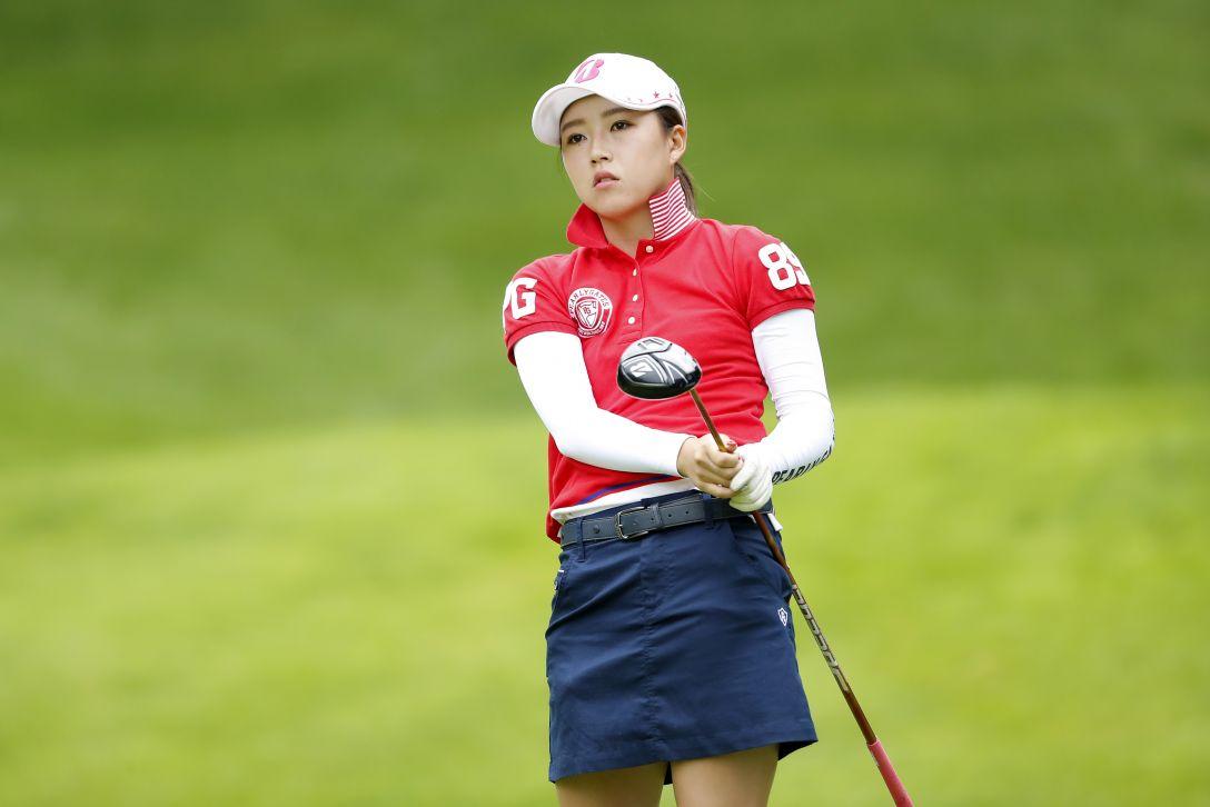 ANA PRINCESS CUP 最終日 丹 萌乃 <Photo:Ken Ishii/Getty Images>