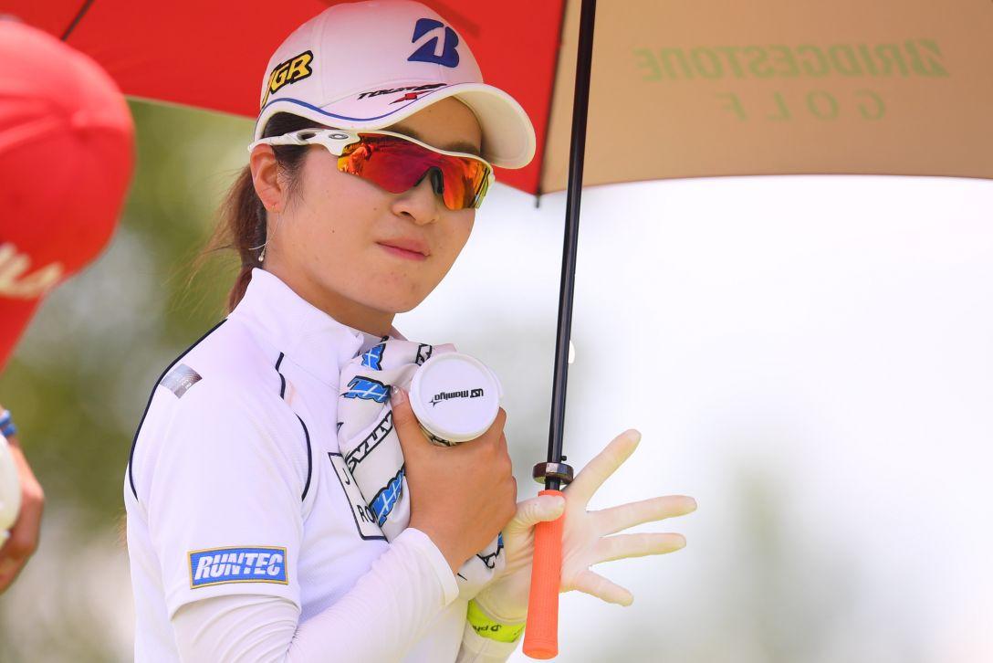 センチュリー21レディスゴルフトーナメント 第1日 三ヶ島かな <Photo:Atsushi Tomura/Getty Images>