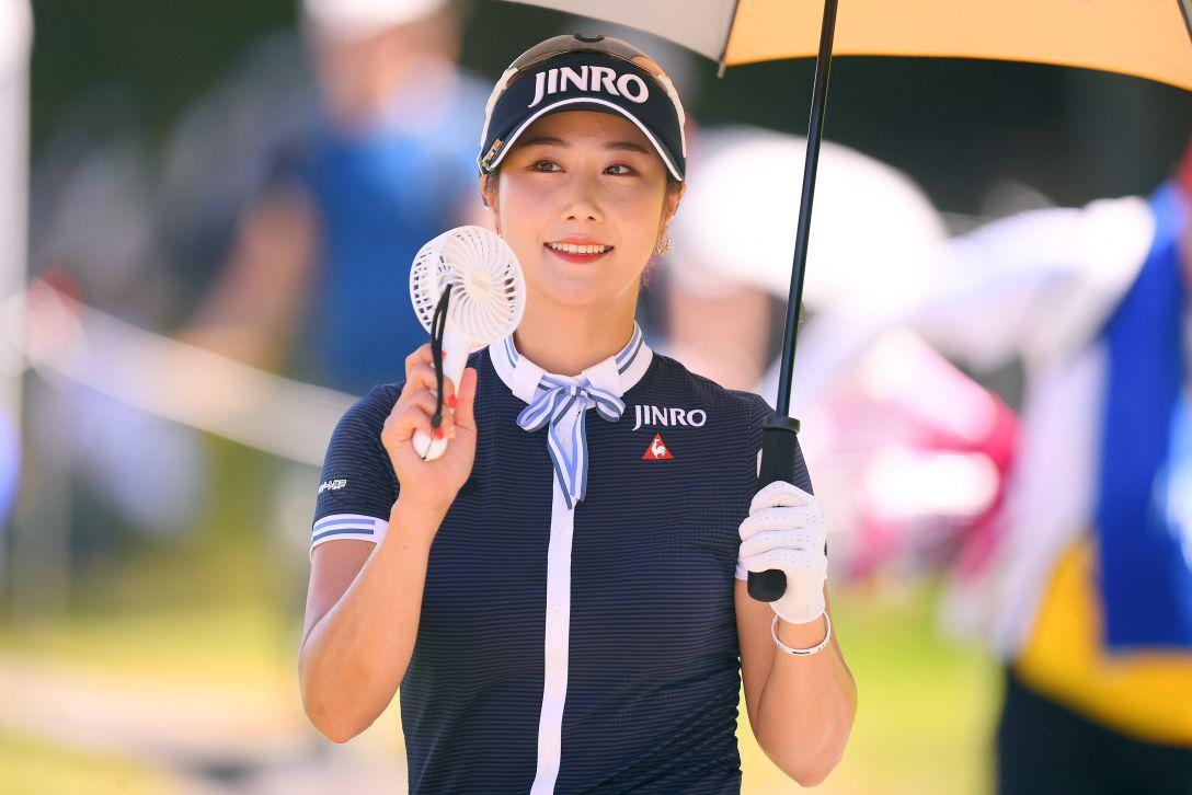センチュリー21レディスゴルフトーナメント 第1日 キム ハヌル <Photo:Atsushi Tomura/Getty Images>