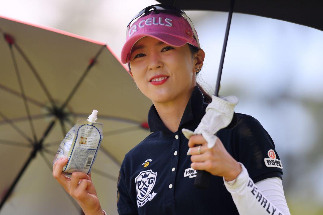 センチュリー21レディスゴルフトーナメント 第1日 ユンチェヨン <Photo:Atsushi Tomura/Getty Images>