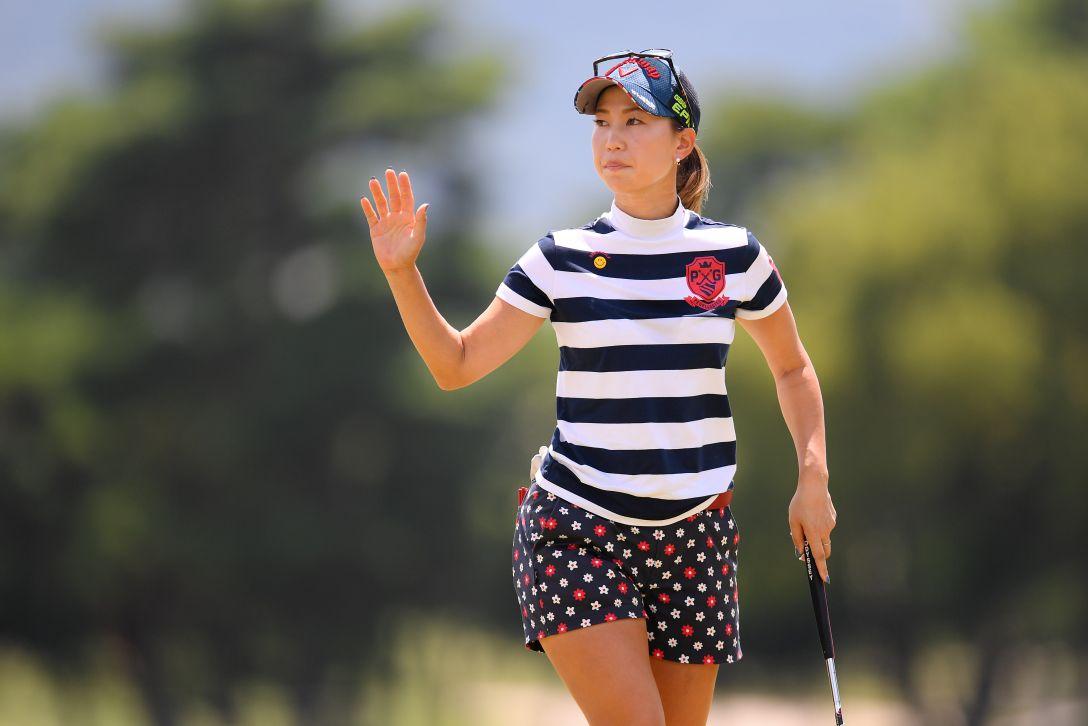 センチュリー21レディスゴルフトーナメント 第2日 上田桃子 <Photo:Atsushi Tomura/Getty Images>