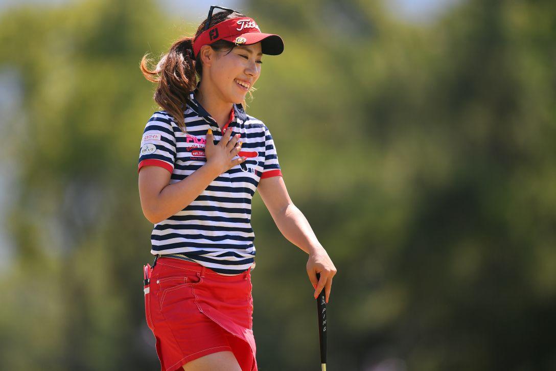 センチュリー21レディスゴルフトーナメント 第2日 木村彩子 <Photo:Atsushi Tomura/Getty Images>
