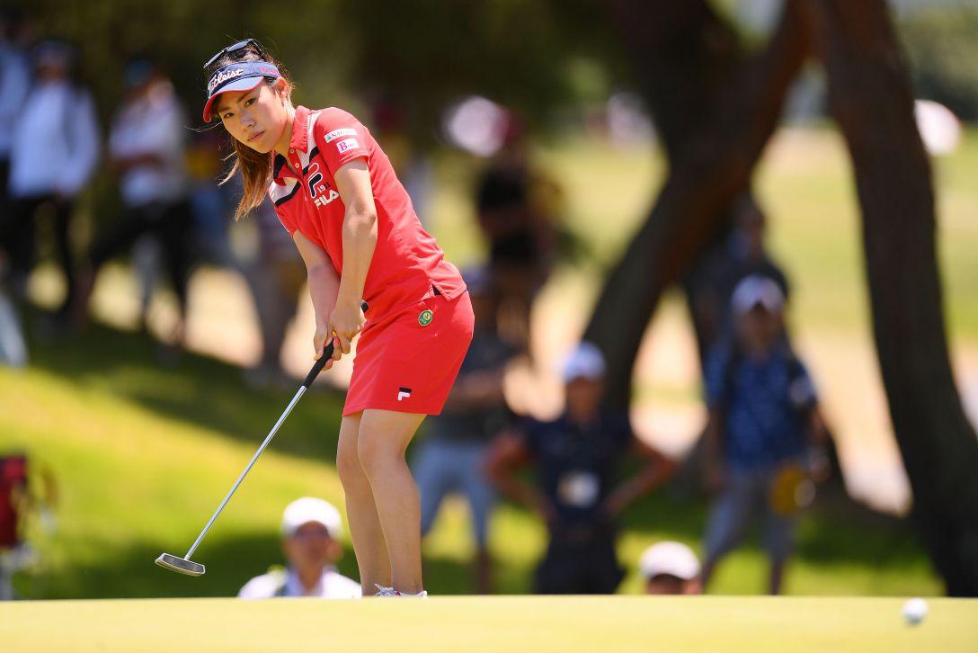 センチュリー21レディスゴルフトーナメント 最終日 木村 彩子 <Photo:Atsushi Tomura/Getty Images>