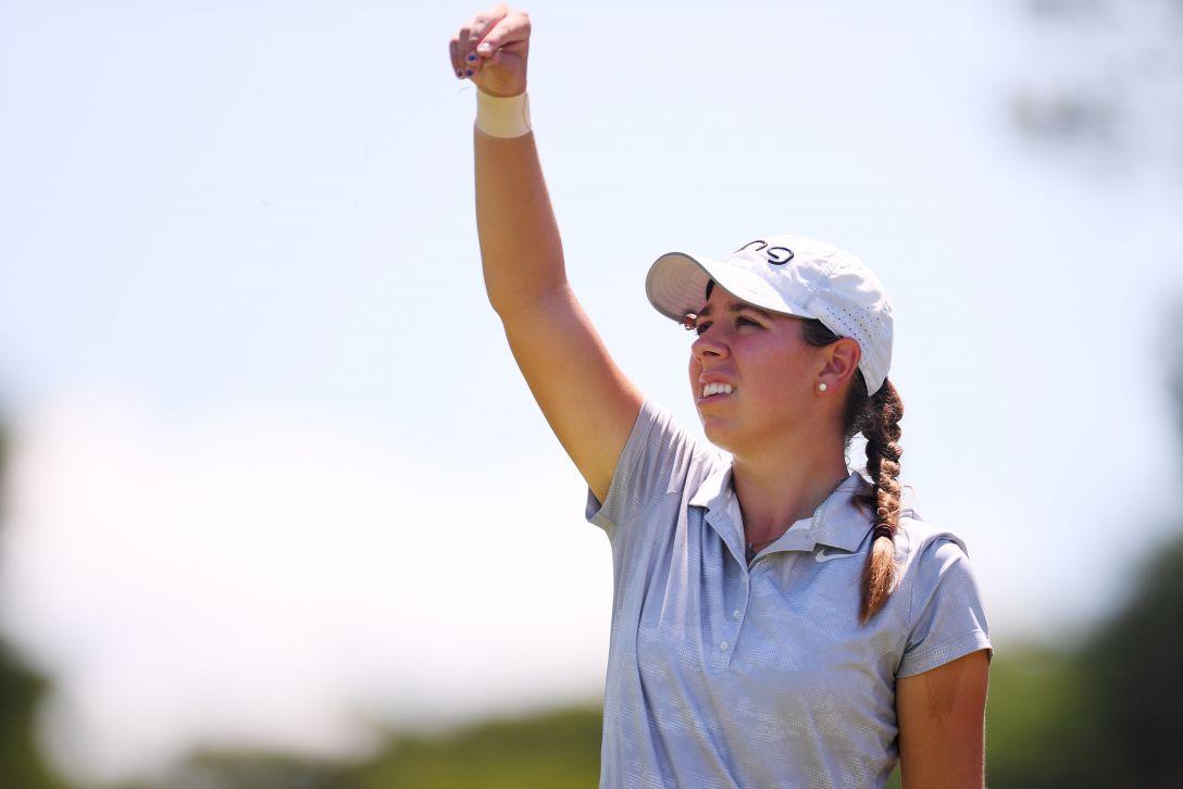 センチュリー21レディスゴルフトーナメント 最終日 クリスティン・ギルマン <Photo:Atsushi Tomura/Getty Images>