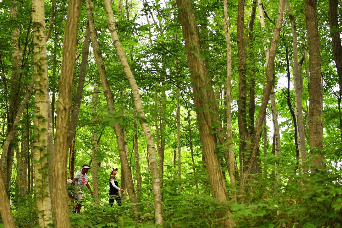 北海道 meiji カップ 第2日 大里 桃子 <Photo:Atsushi Tomura/Getty Images>