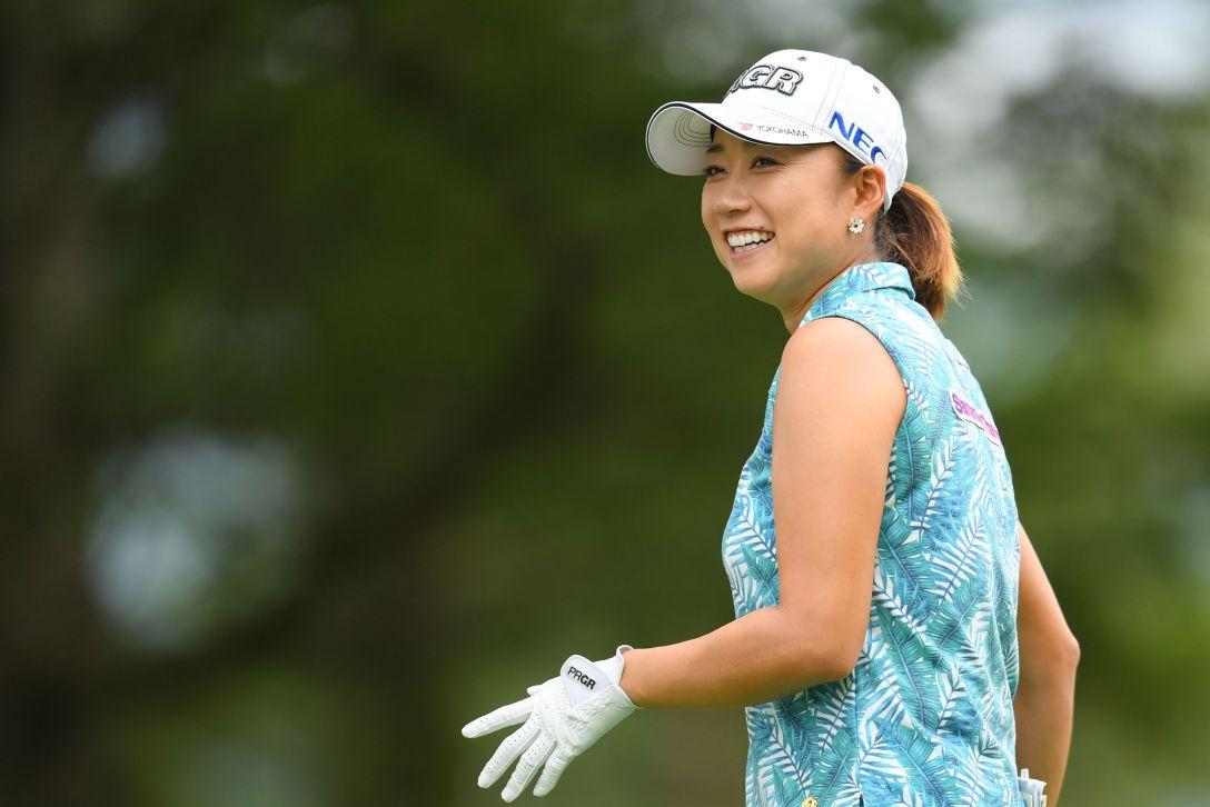 NEC軽井沢72ゴルフトーナメント 第1日 原 江里菜 <Photo:Atsushi Tomura/Getty Images>