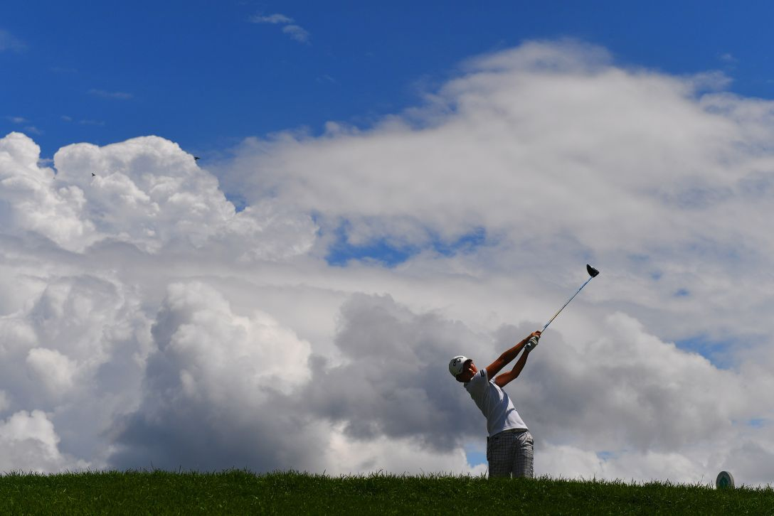 NEC軽井沢72ゴルフトーナメント 第2日 沖せいら <Photo:Atsushi Tomura/Getty Images>