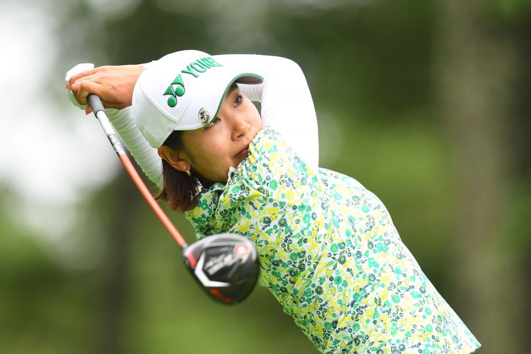 NEC軽井沢72ゴルフトーナメント 第2日 若林舞衣子 <Photo:Atsushi Tomura/Getty Images>