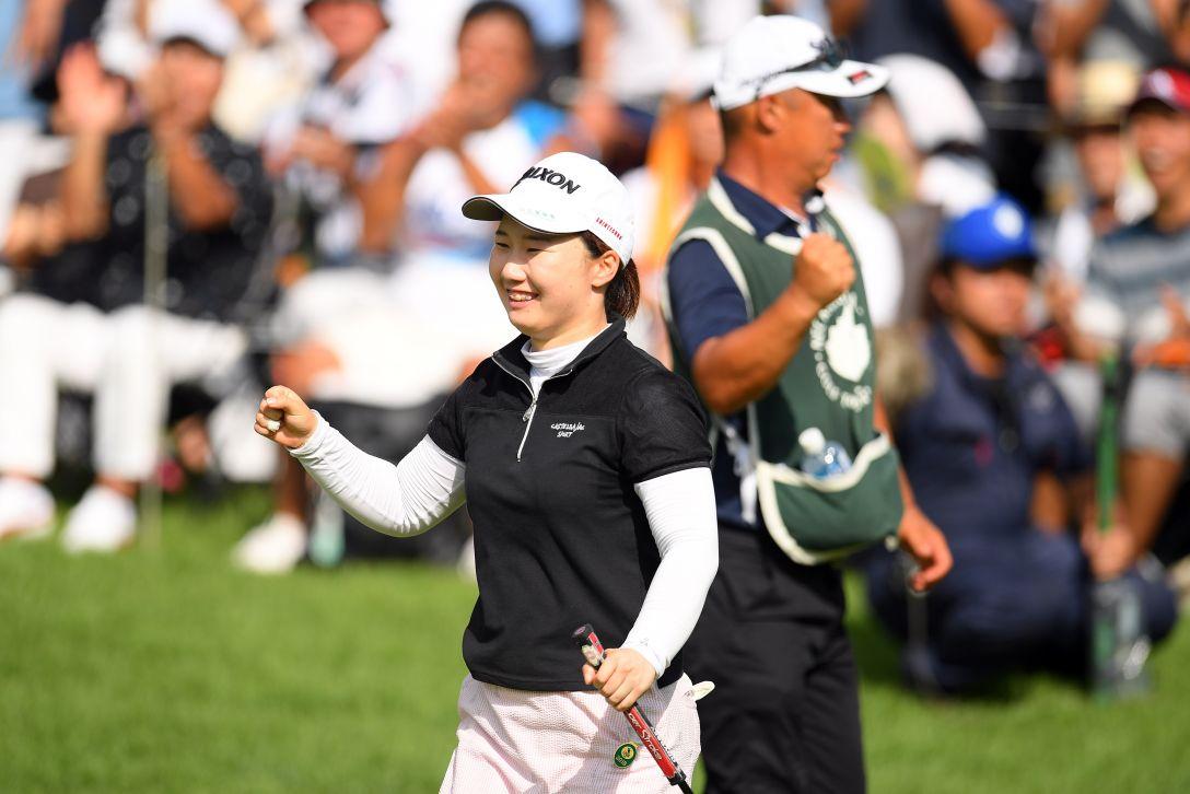 NEC軽井沢72ゴルフトーナメント 第2日 石川明日香 <Photo:Atsushi Tomura/Getty Images>