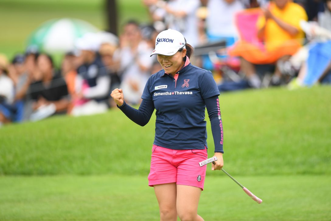 NEC軽井沢72ゴルフトーナメント 第2日 勝みなみ <Photo:Atsushi Tomura/Getty Images>