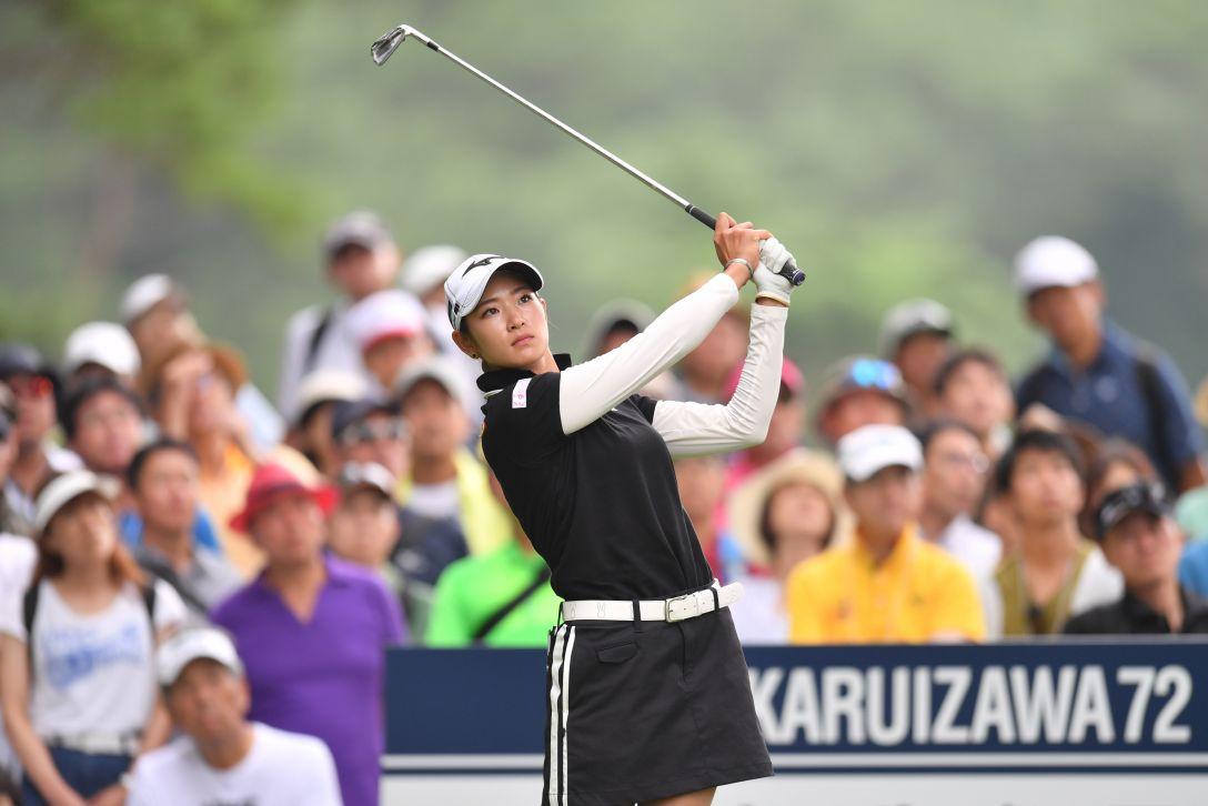 NEC軽井沢72ゴルフトーナメント 最終日 原英莉花 <Photo:Atsushi Tomura/Getty Images>