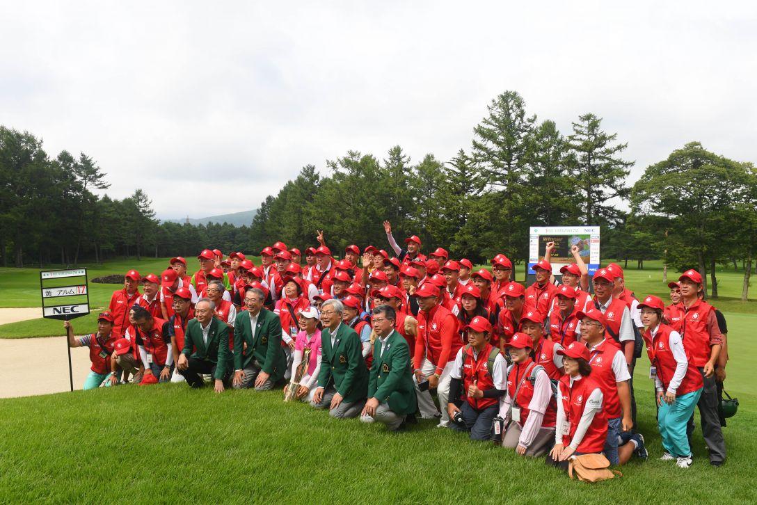 NEC軽井沢72ゴルフトーナメント 最終日 <Photo:Atsushi Tomura/Getty Images>