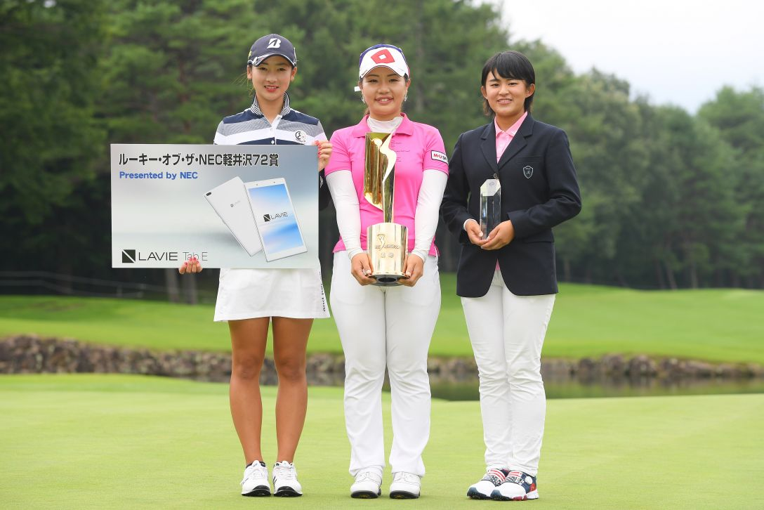 NEC軽井沢72ゴルフトーナメント 最終日 松田鈴英 長野未祈 <Photo:Atsushi Tomura/Getty Images>