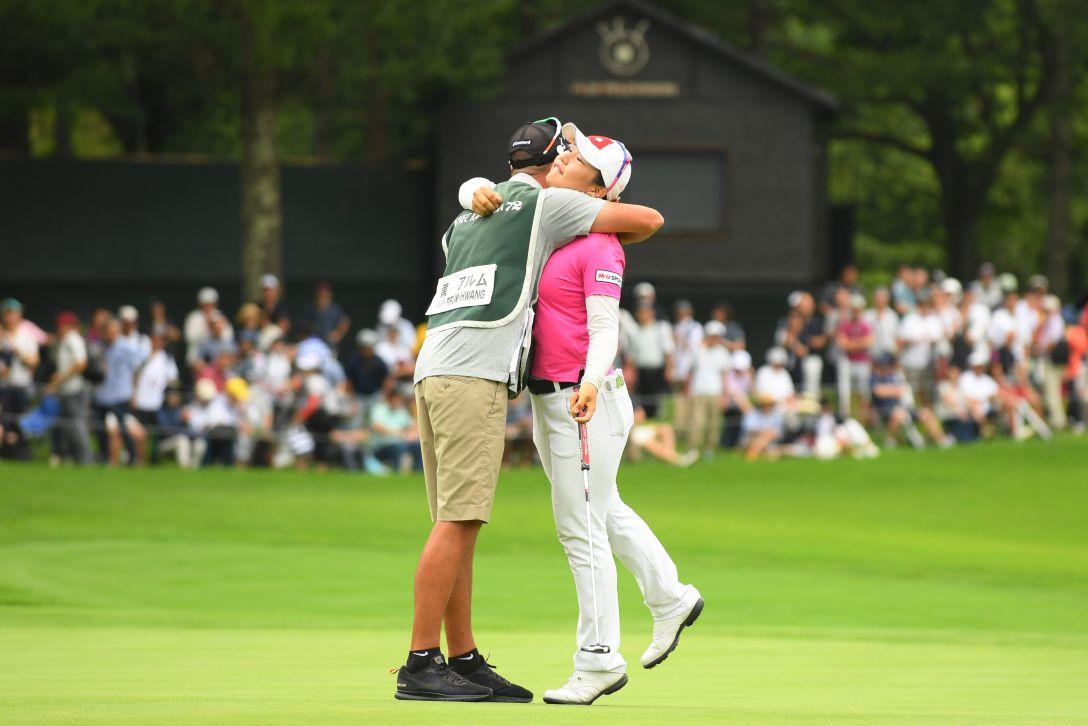 NEC軽井沢72ゴルフトーナメント 最終日 黄アルム <Photo:Atsushi Tomura/Getty Images>