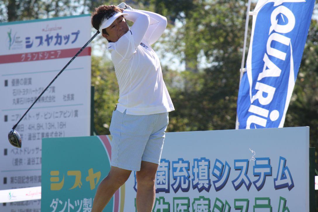 シブヤカップ 第1日 安井純子