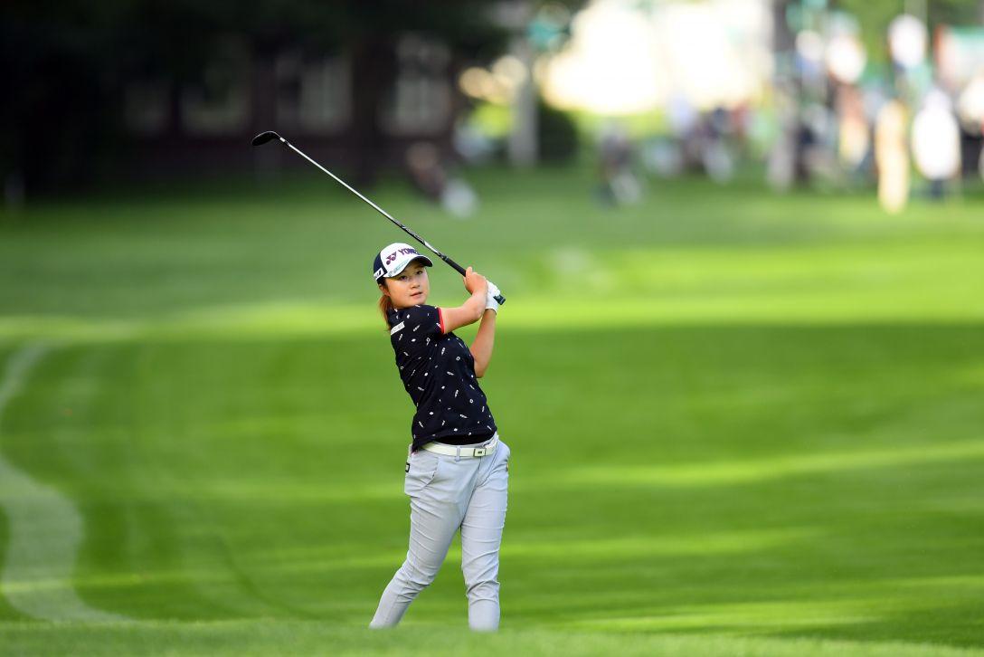 ニトリレディスゴルフトーナメント 第1日 森田遥 <Photo:Atsushi Tomura/Getty Images>