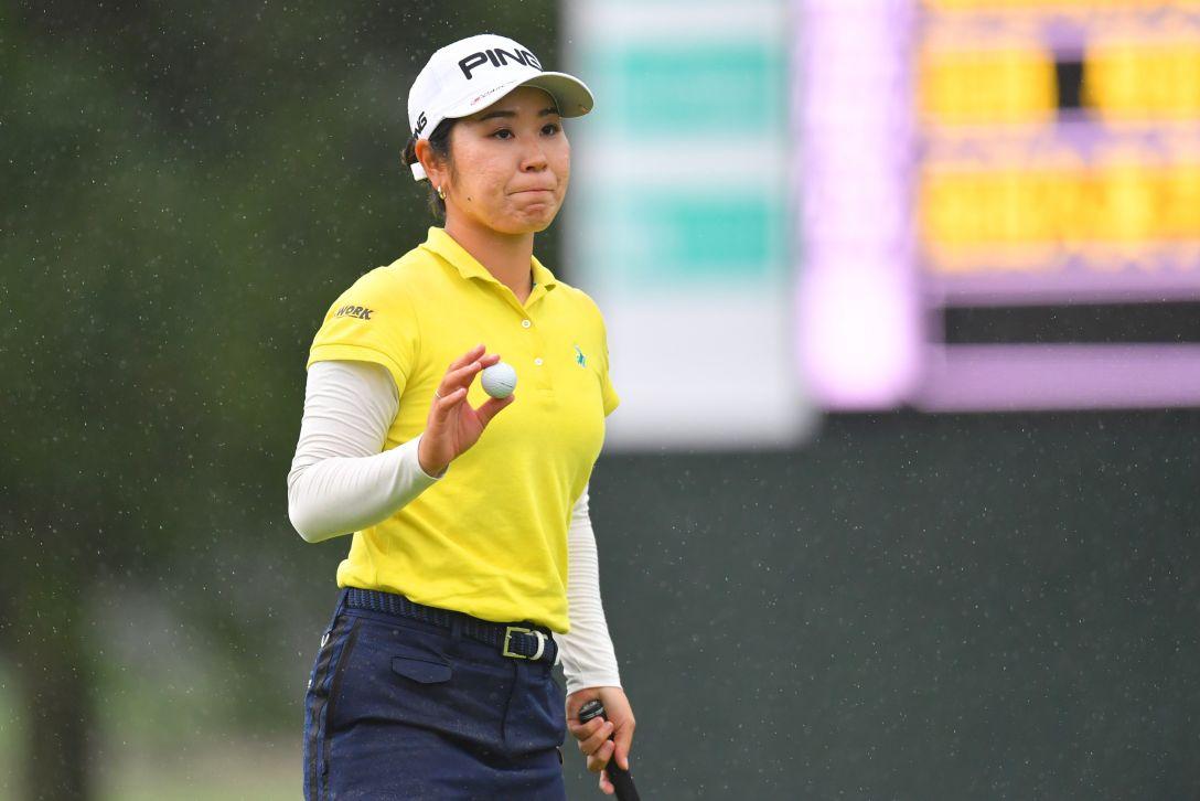 ニトリレディスゴルフトーナメント 第2日 比嘉真美子 <Photo:Atsushi Tomura/Getty Images>