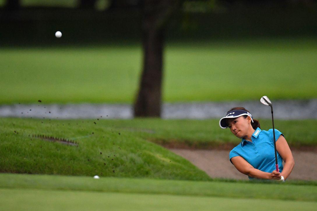ニトリレディスゴルフトーナメント 第3日 有村智恵 <Photo:Atsushi Tomura/Getty Images>