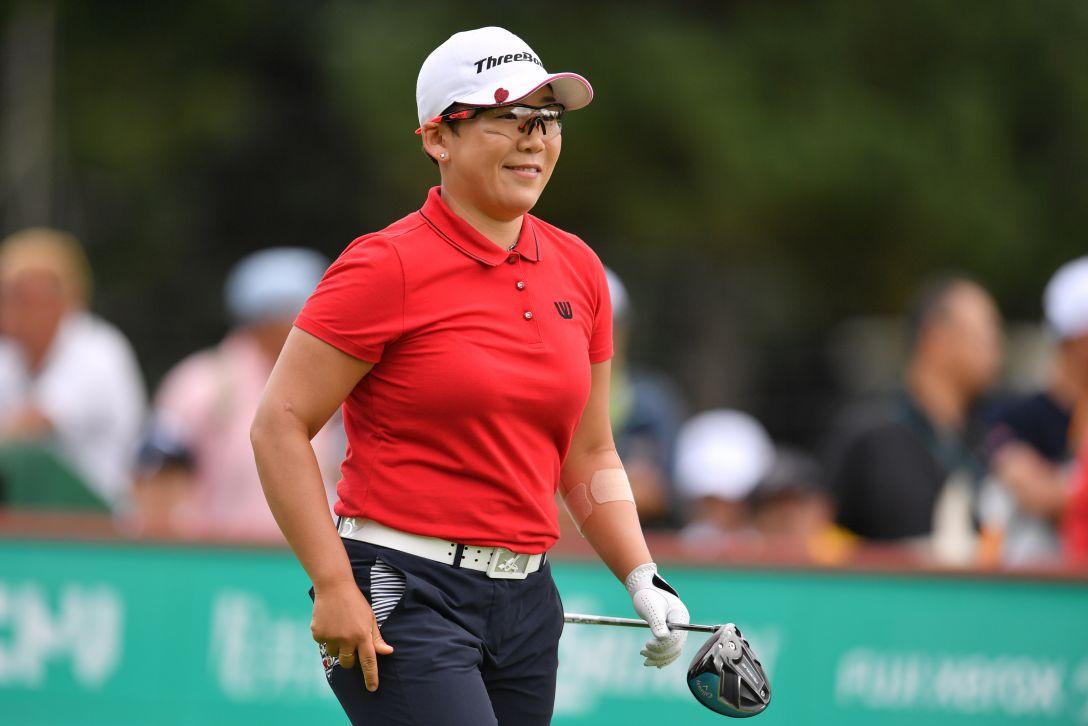 ニトリレディスゴルフトーナメント 第3日 申ジエ <Photo:Atsushi Tomura/Getty Images>