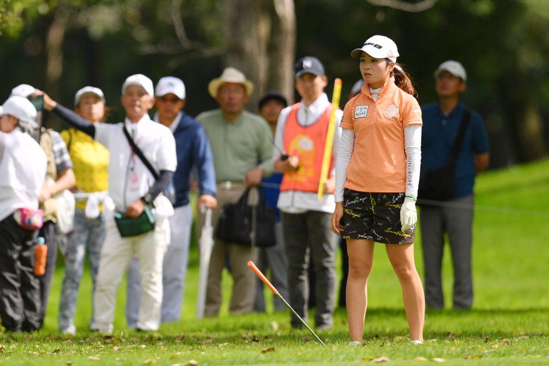 ニトリレディスゴルフトーナメント 第3日 三ヶ島かな <Photo:Atsushi Tomura/Getty Images>
