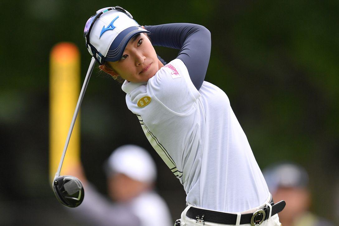 ニトリレディスゴルフトーナメント 第3日 原英莉花 <Photo:Atsushi Tomura/Getty Images>