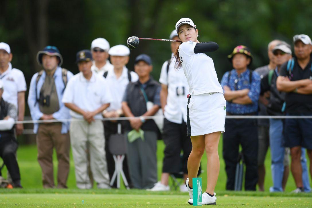 ニトリレディスゴルフトーナメント 最終日 三ヶ島かな <Photo:Atsushi Tomura/Getty Images>