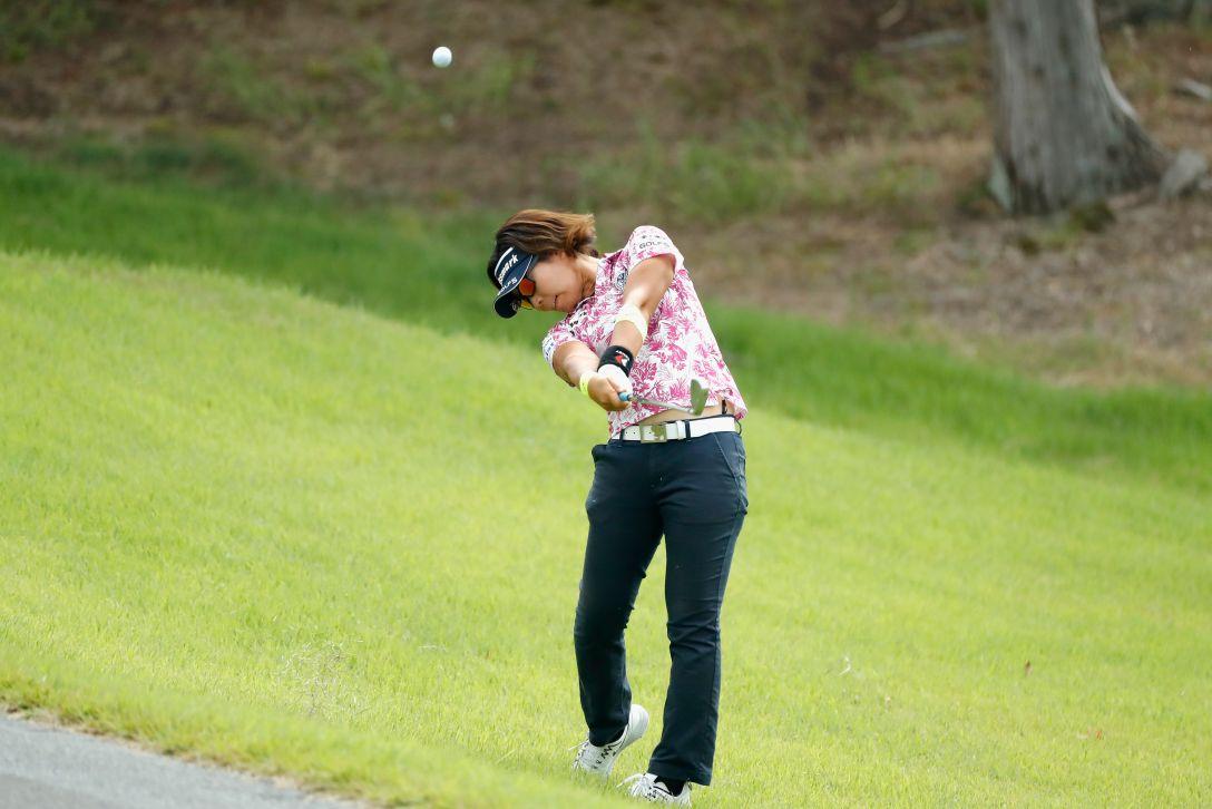 ゴルフ5レディス プロゴルフトーナメント 第1日 穴井 詩 <Photo:Ken Ishii/Getty Images>