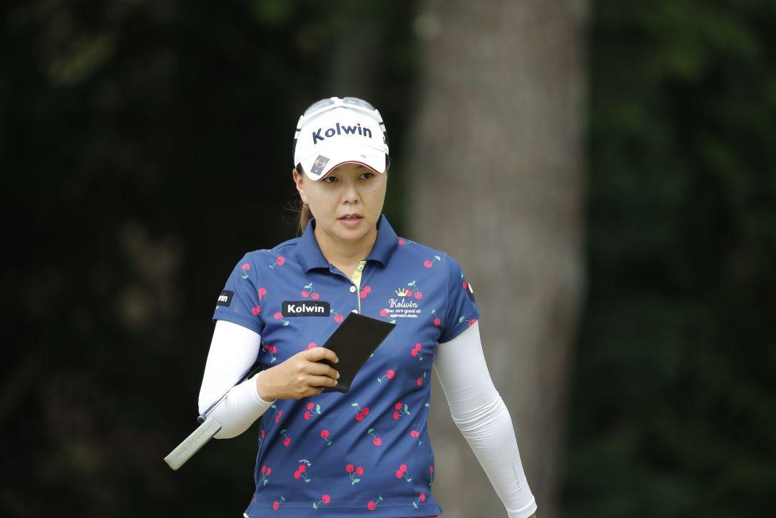 ゴルフ5レディス プロゴルフトーナメント 第1日 上原 美希 <Photo:Ken Ishii/Getty Images>