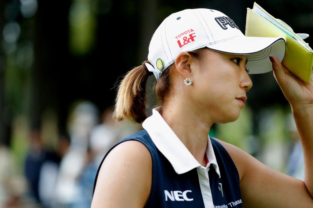 ゴルフ5レディス プロゴルフトーナメント 第1日 原 江里菜 <Photo:Ken Ishii/Getty Images>