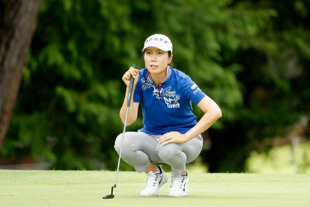 ゴルフ5レディス プロゴルフトーナメント 第2日 李 知姫 <Photo:Ken Ishii/Getty Images>